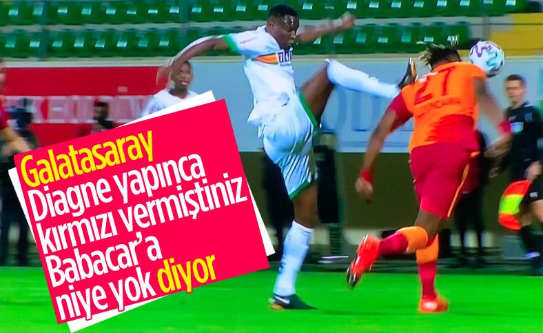 Galatasaray'dan kırmızı kart tepkisi