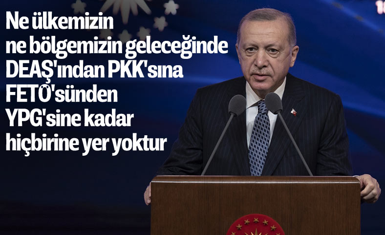 Cumhurbaşkanı Erdoğan: ABD ile ortak menfaatlerimiz görüş ayrılıklarımızdan daha fazla