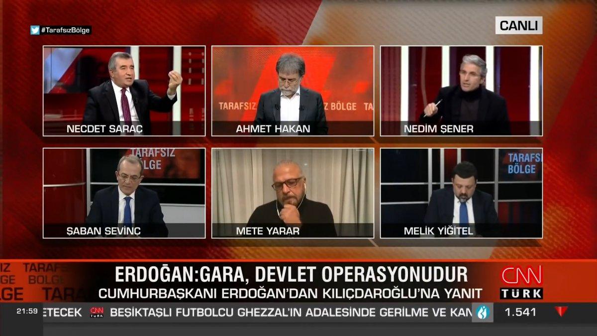 Nedim Şener: HDP ye oy veren PKK nın kalaşnikof kurşunudur #1