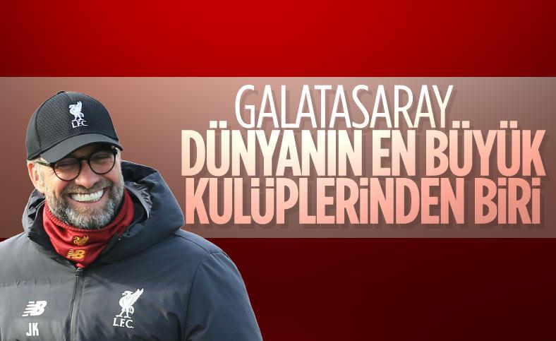 Jürgen Klopp'un Galatasaray sözleri