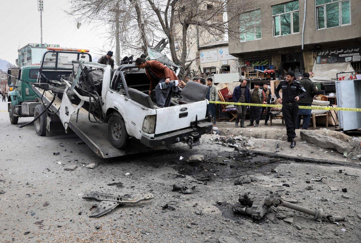 Afganistan da art arda 3 saldırı: 5 ölü, 2 yaralı #1