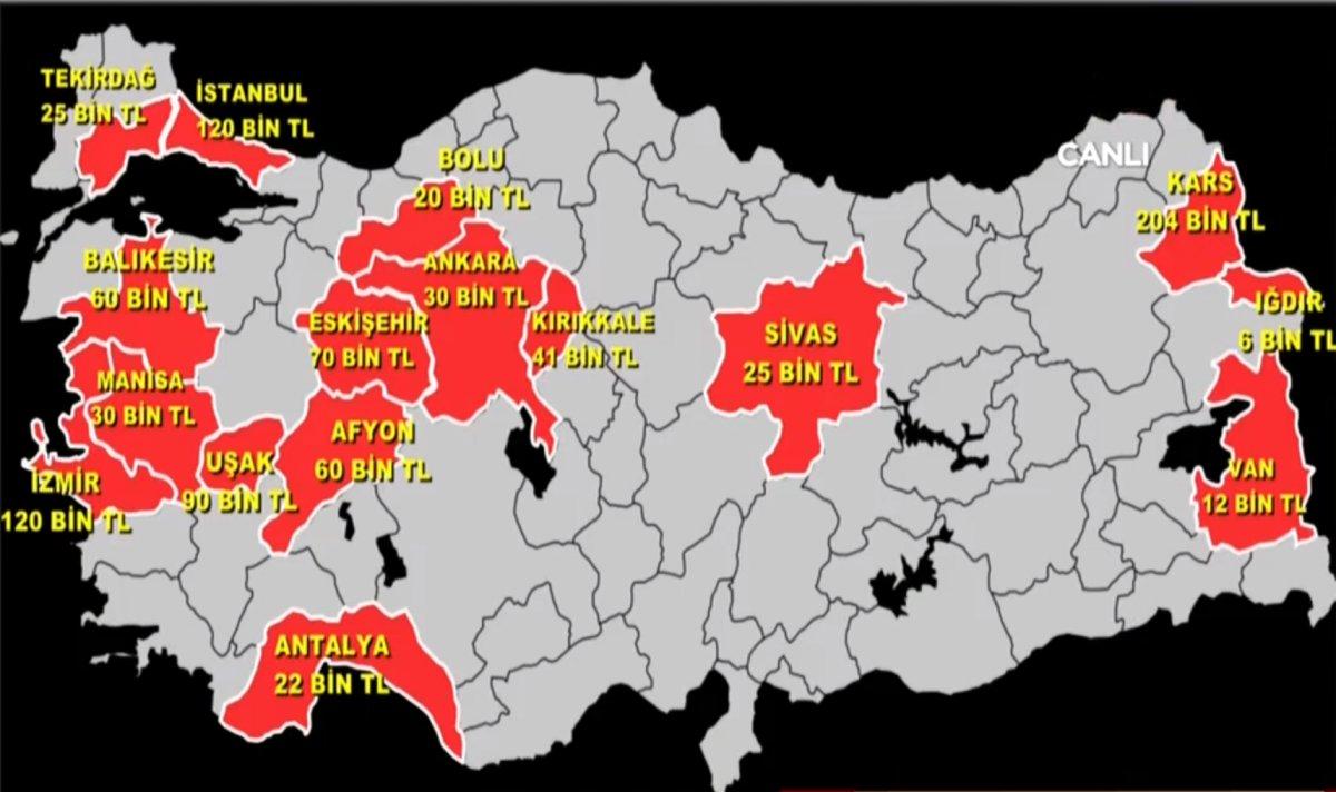Türkiye'nin sahte gelin haritası  #1