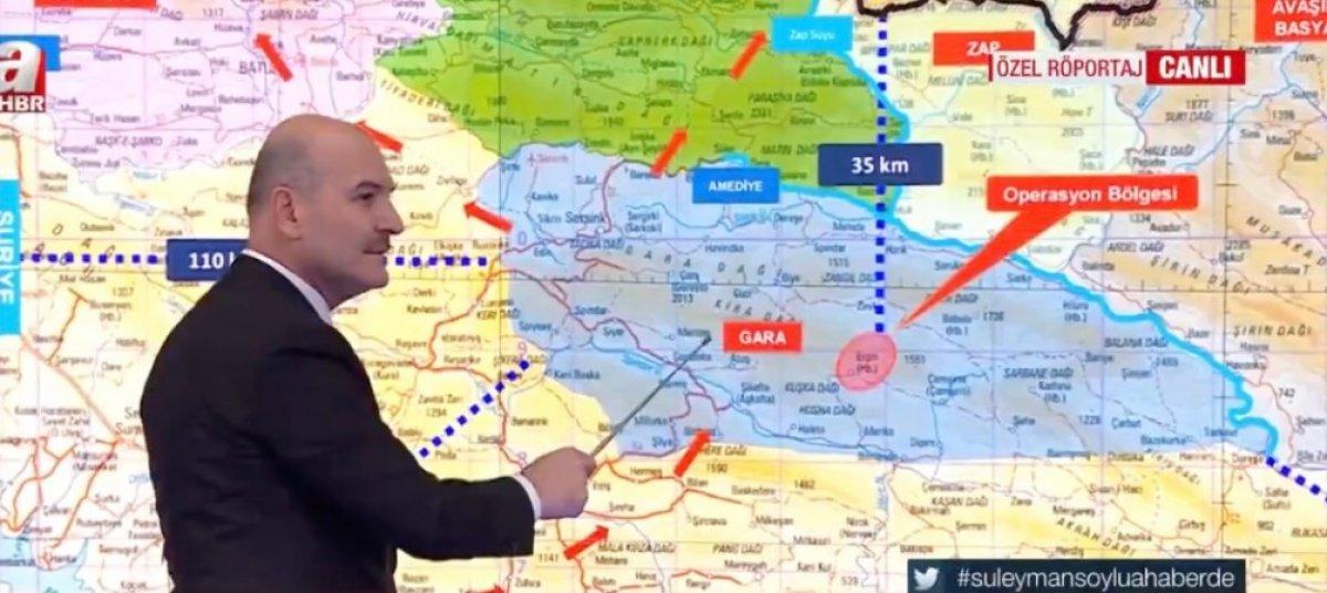 Süleyman Soylu: Gara, terör örgütü PKK nın kalbiydi #1