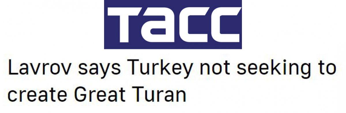 Sergey Lavrov: Türkiye, Büyük Turan ı kurmaya çalışmıyor #3