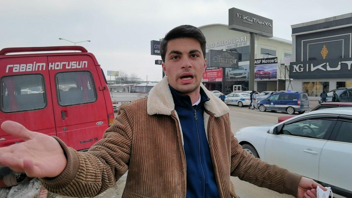 Bursa da yaya geçidinde ölümden kıl payı kurtuldu #2