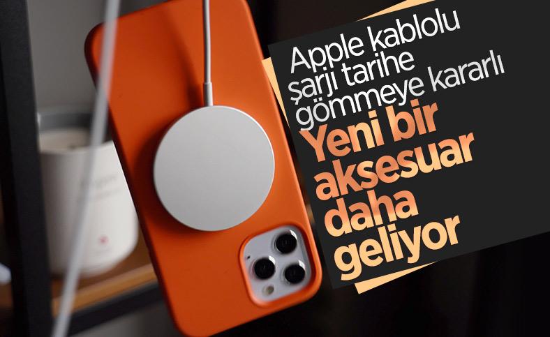 Apple, MagSafe benzeri yeni bir şarj aksesuarı geliştiriyor