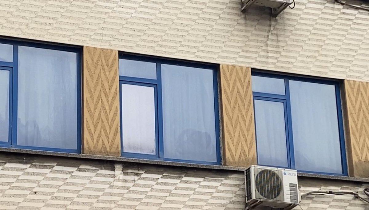 Çağlayan da otele yerleştirilen evsiz pencereden atladı #4