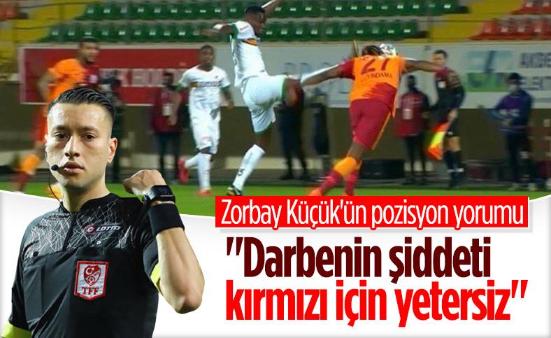 Zorbay Küçük'ün Babacar'ın pozisyonuna yorumu
