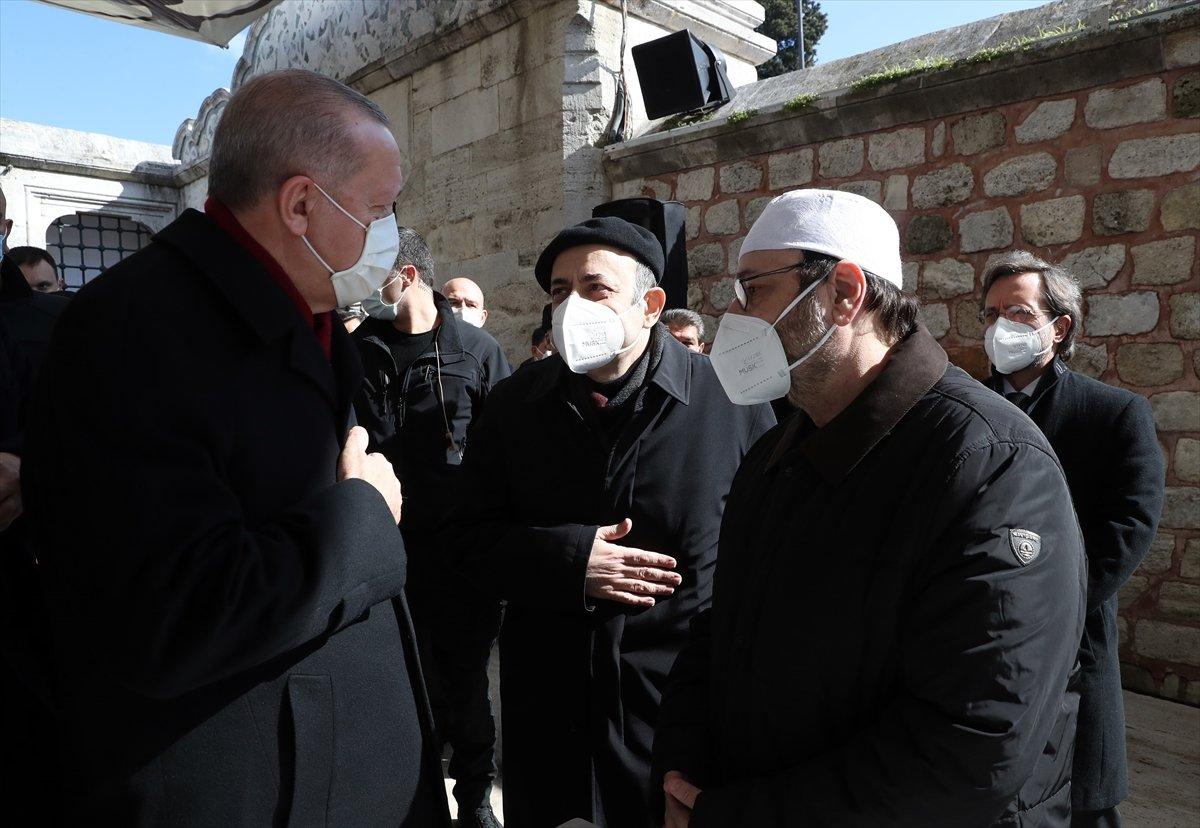 Cumhurbaşkanı Erdoğan, Emin Saraç ın cenaze törenine katıldı #1