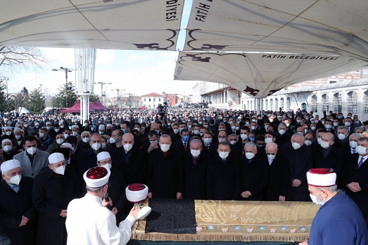 Cumhurbaşkanı Erdoğan, Emin Saraç ın cenaze törenine katıldı #5