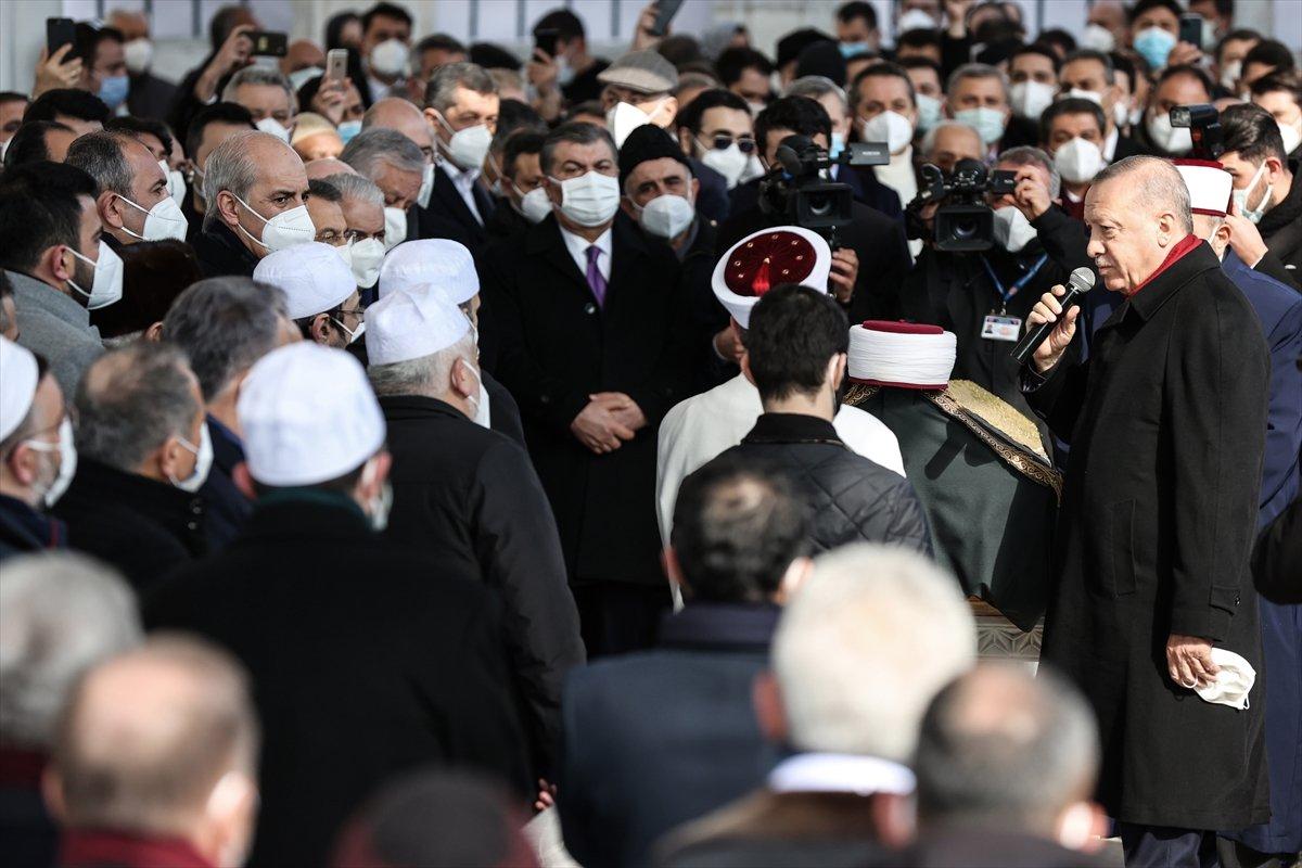 Cumhurbaşkanı Erdoğan, Emin Saraç ın cenaze törenine katıldı #4