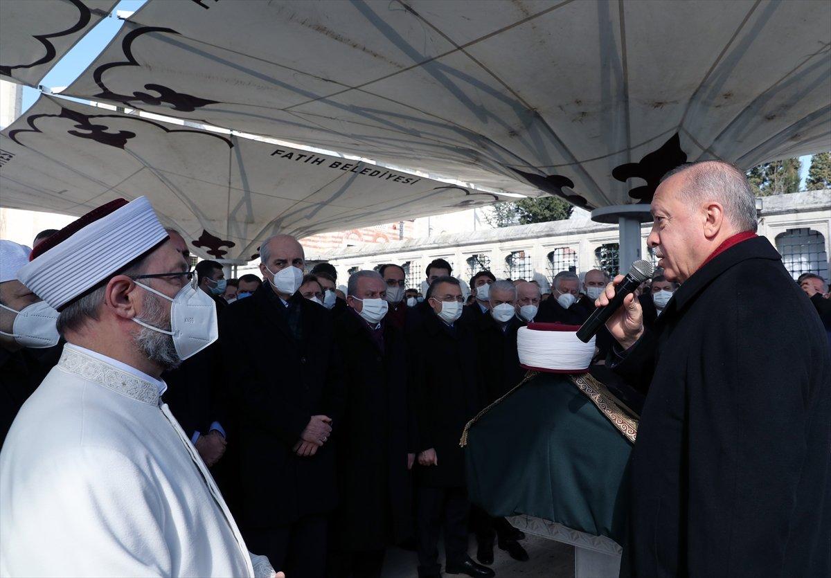 Cumhurbaşkanı Erdoğan, Emin Saraç ın cenaze törenine katıldı #2