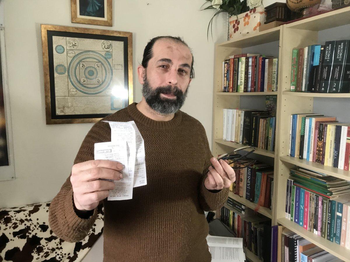 Tedavi için Türkiye ye gelen öğretmene gözlükçü şoku #1