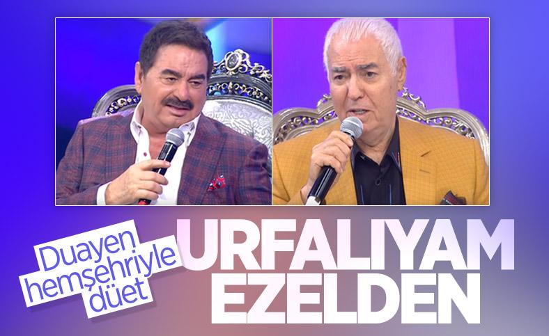 İbrahim Tatlıses ile Nuri Sesigüzel'den 'Urfalıyım Ezelden' düeti