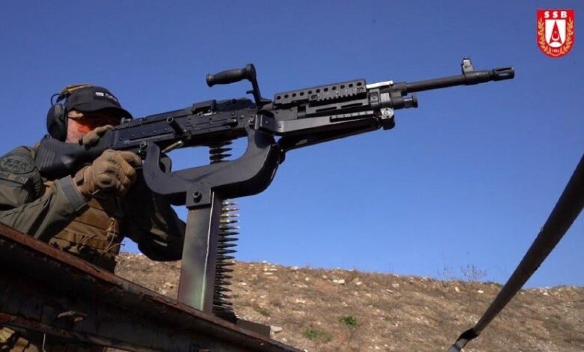 Milli makineli tüfek PMT 7.62 dışa bağımlılığı bitirecek #5