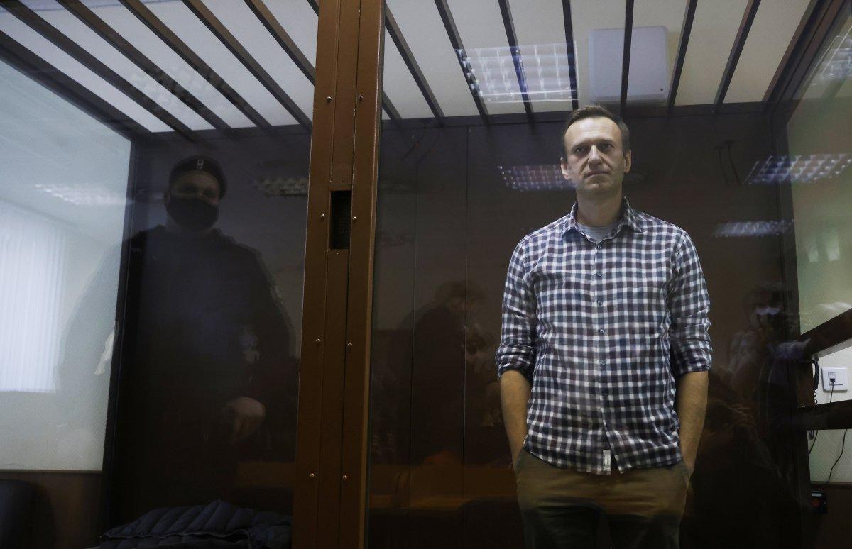 Rus muhalif Navalnıy a  gaziye iftiradan  para cezası #1