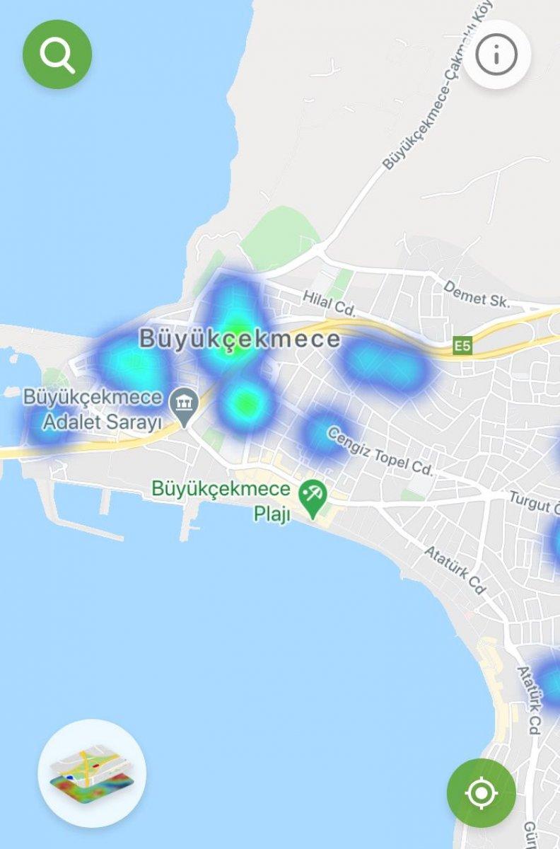 İstanbul da ilçe ilçe vaka yoğunluğu #14