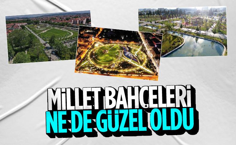 TOKİ eski stadyum alanlarını Millet Bahçesi'ne dönüştürdü