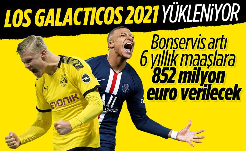 Real Madrid, Mbappe ve Haaland için servet ödeyecek