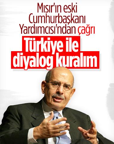 Mısır'ın eski Cumhurbaşkanı Yardımcısı El-Baradey'den Arap ülkelerine Türkiye çağrısı