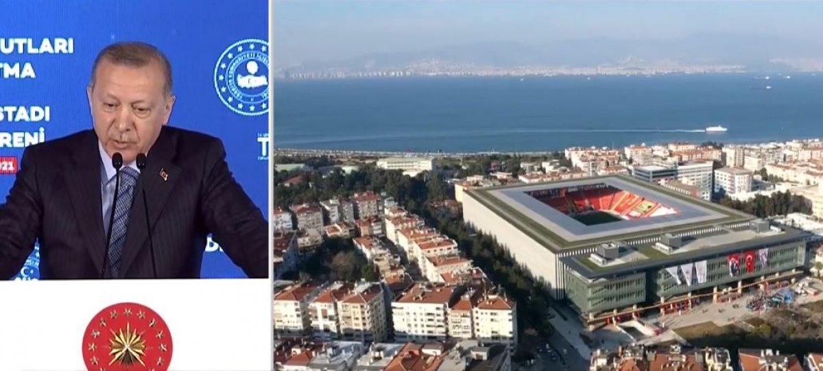 Cumhurbaşkanı Erdoğan, Göztepe Stadyumu nun açılışını gerçekleştirdi #2