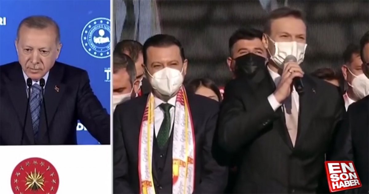 Cumhurbaşkanı Erdoğan, Göztepe Stadyumu nun açılışını gerçekleştirdi #1