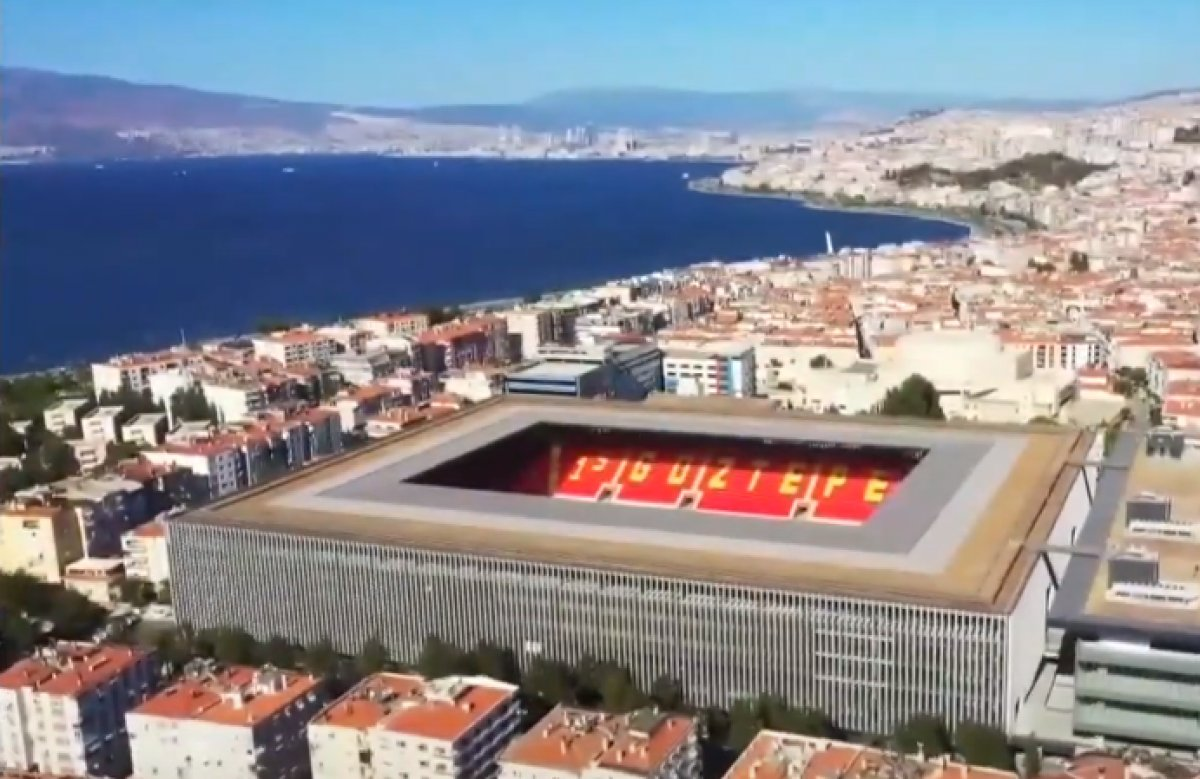 Cumhurbaşkanı Erdoğan, Göztepe Stadyumu nun açılışını gerçekleştirdi #3
