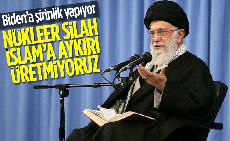 İran Dini Lideri Hamaney: İhtiyaç olursa uranyumu yüzde 60 zenginleştiririz