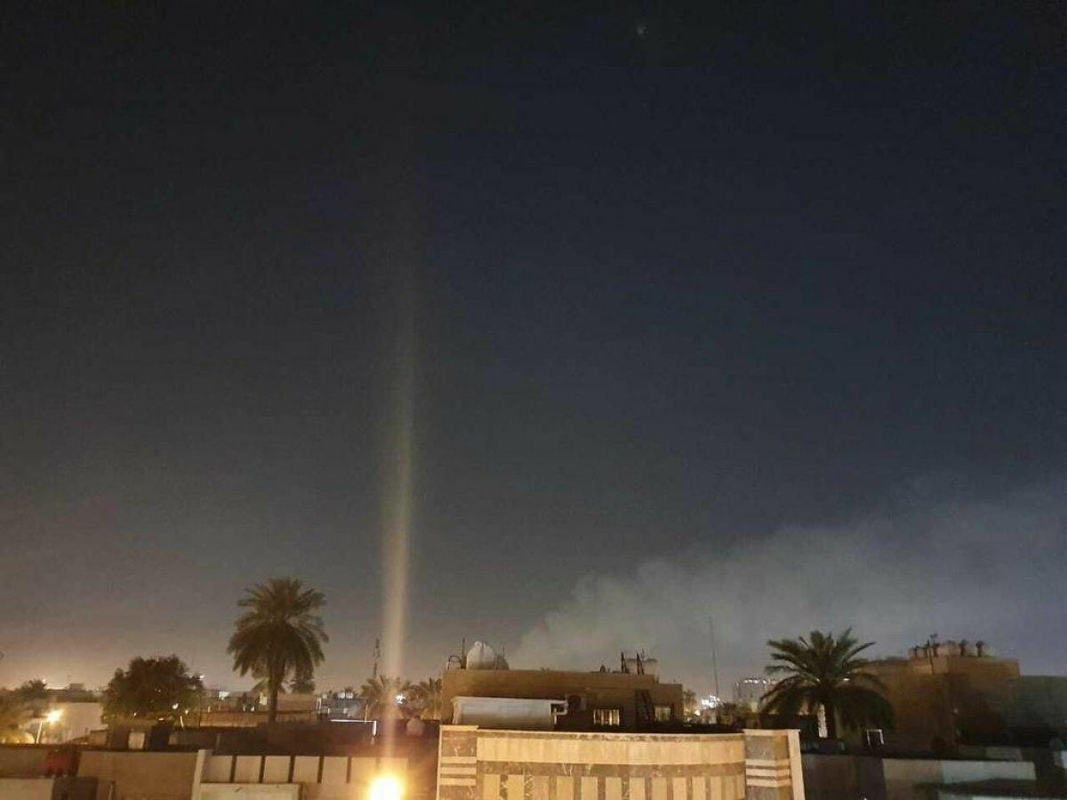 Irak'taki Yeşil Bölge'ye roketli saldırı #4