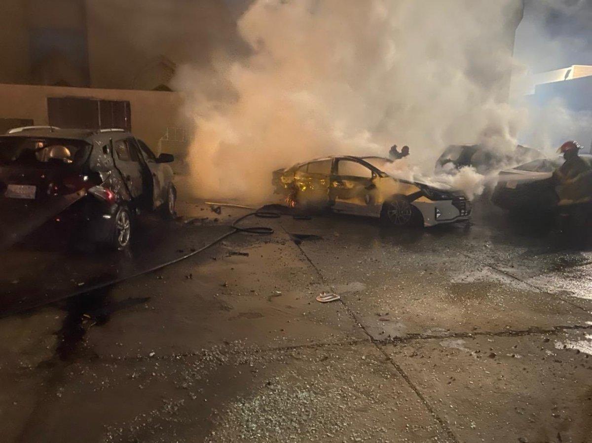 Irak'taki Yeşil Bölge'ye roketli saldırı #1