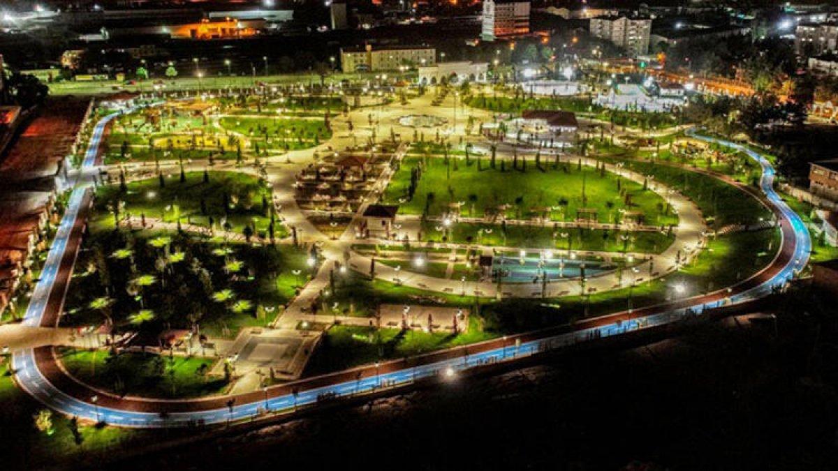 TOKİ eski stadyum alanlarını Millet Bahçesi ne dönüştürdü #5