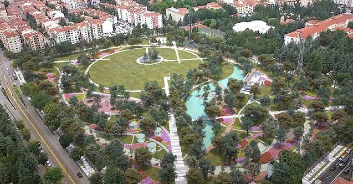 TOKİ eski stadyum alanlarını Millet Bahçesi ne dönüştürdü #4