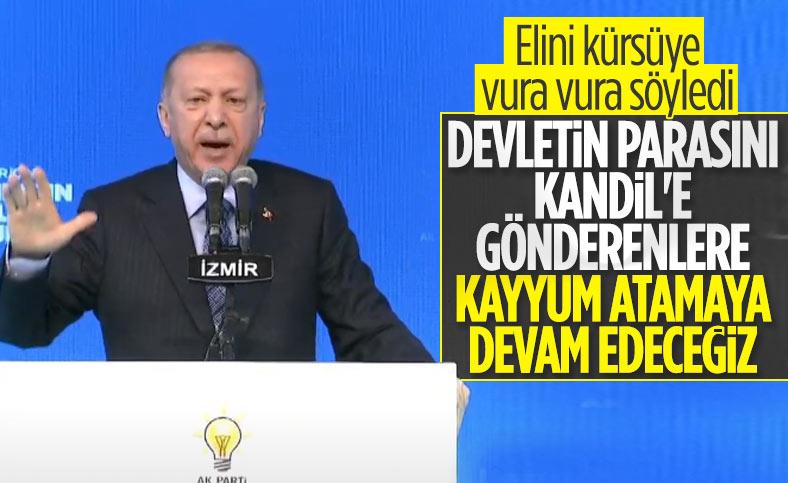 Cumhurbaşkanı Erdoğan, kayyum eleştirilerine yanıt verdi