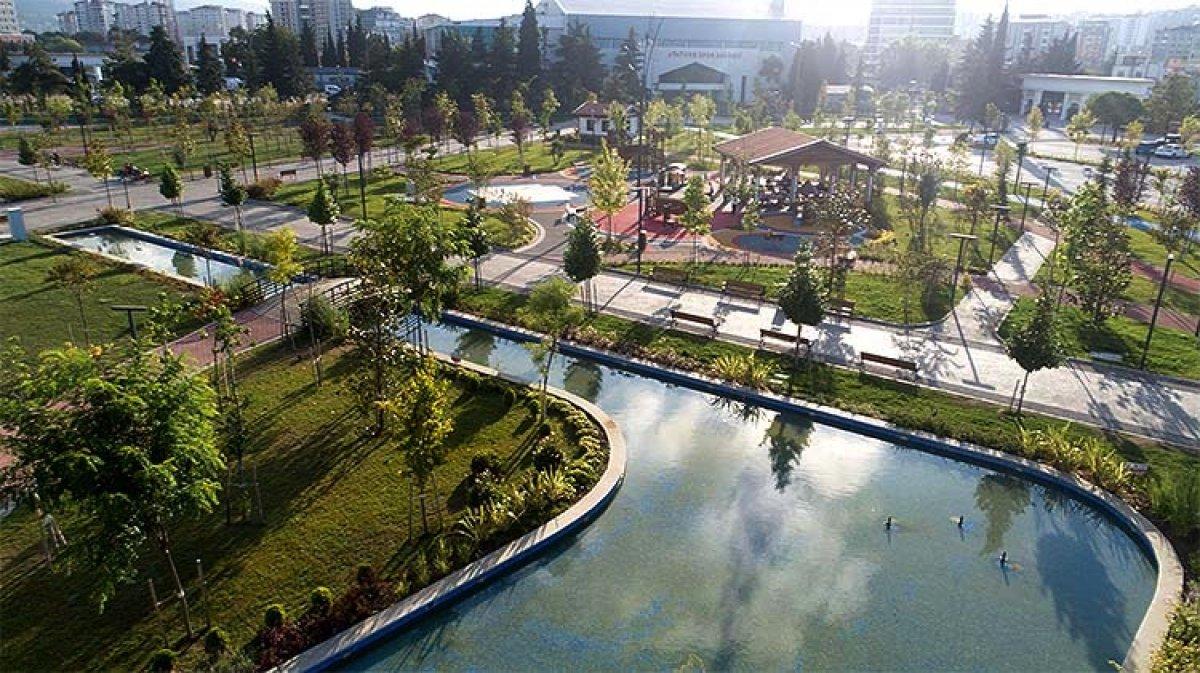 TOKİ eski stadyum alanlarını Millet Bahçesi ne dönüştürdü #1