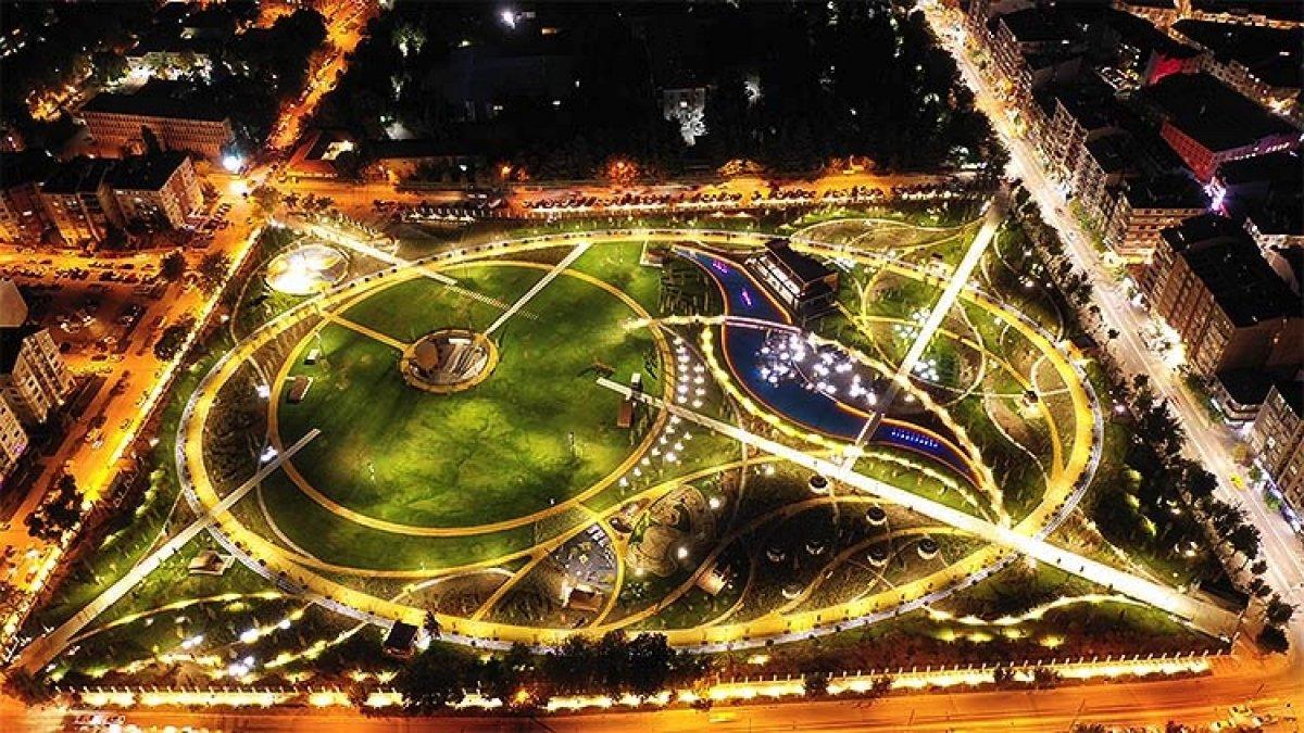 TOKİ eski stadyum alanlarını Millet Bahçesi ne dönüştürdü #2