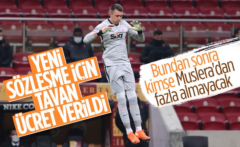 Fernando Muslera'nın sözleşmesi uzatılıyor
