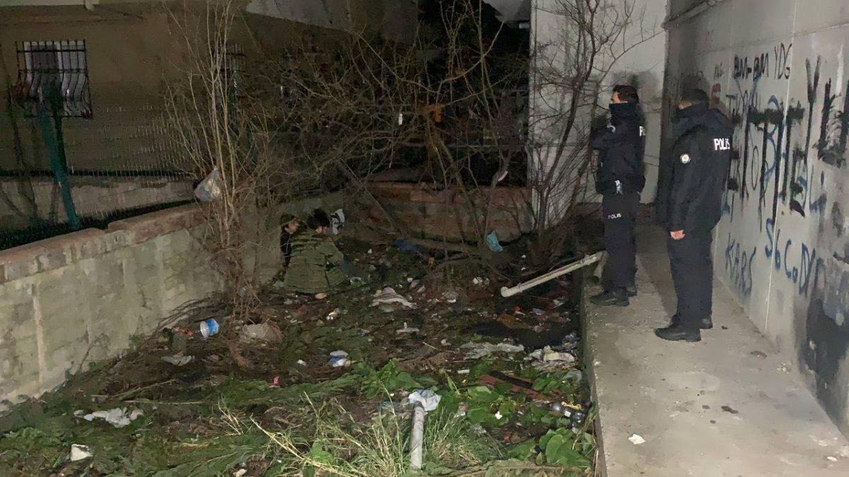 Sancaktepe de polisten kaçan iki şüphelinin bacağı kırıldı #3