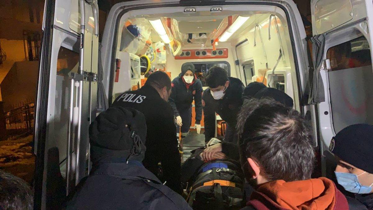 Sancaktepe de polisten kaçan iki şüphelinin bacağı kırıldı #2