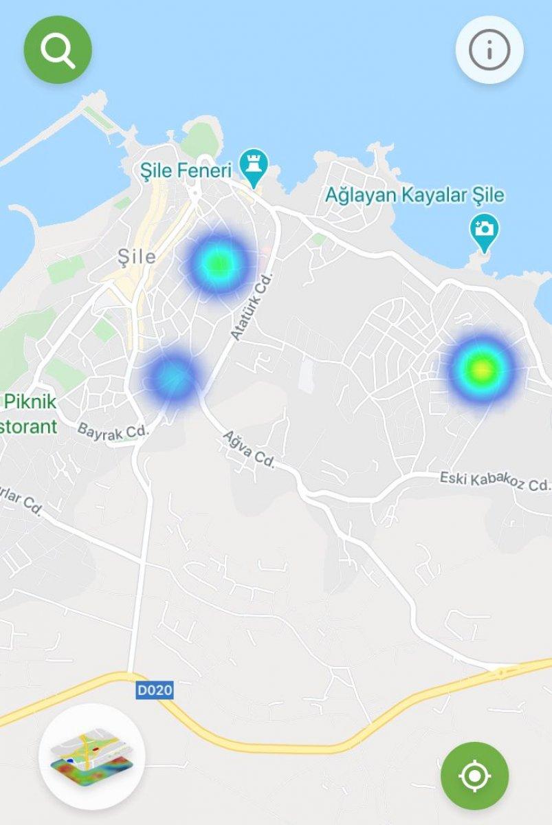 İstanbul da ilçe ilçe vaka yoğunluğu #34