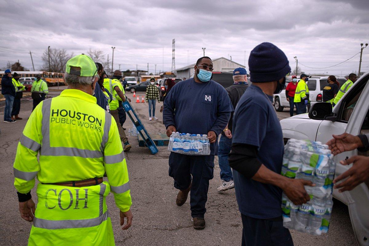 Teksas ta su krizi devam ediyor #5