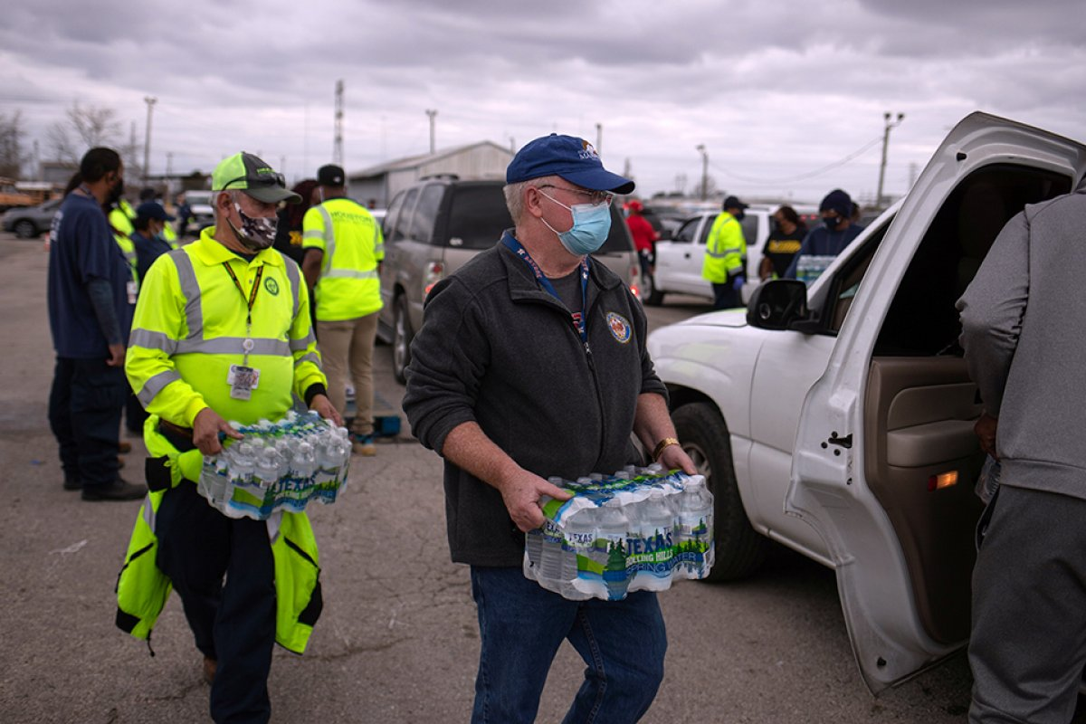 Teksas ta su krizi devam ediyor #4