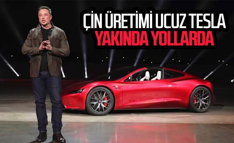 Tesla, Çin'de daha ucuz bir otomobil üretecek