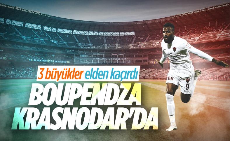 Aaron Boupendza, Krasnodar ile anlaştı