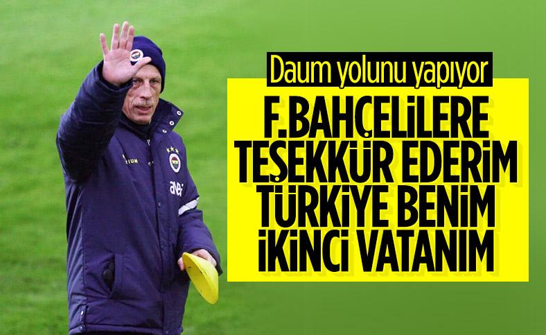 Christoph Daum'dan Fenerbahçe sözleri