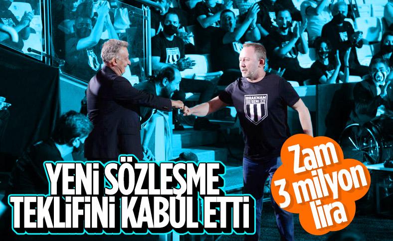 Sergen Yalçın, Beşiktaş'ın yeni sözleşme teklifini kabul etti