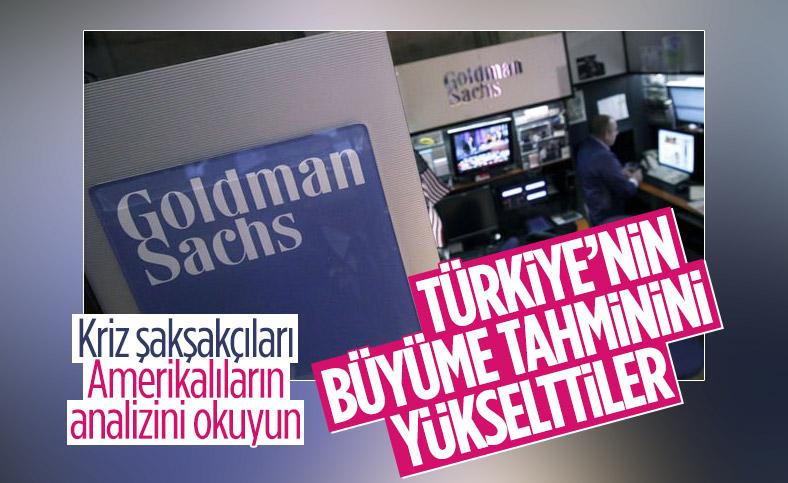 Goldman Sachs: Türkiye 2021'de yüzde 6 büyüyecek