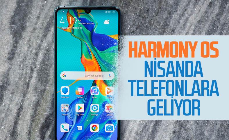 Huawei'nin işletim sistemi HarmonyOS, akıllı telefonlara geliyor