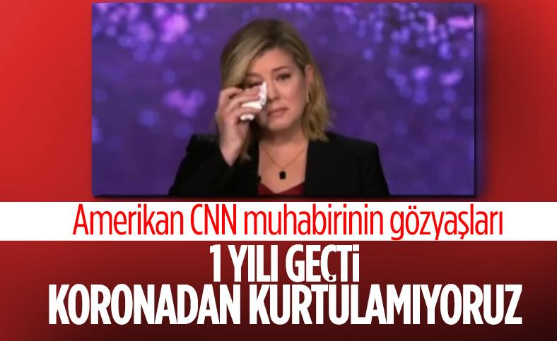 CNN International spikeri Brianna Keilar, canlı yayında ağladı