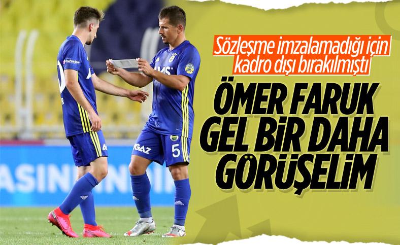 Fenerbahçe, Ömer Faruk Beyaz ile yeniden görüşecek