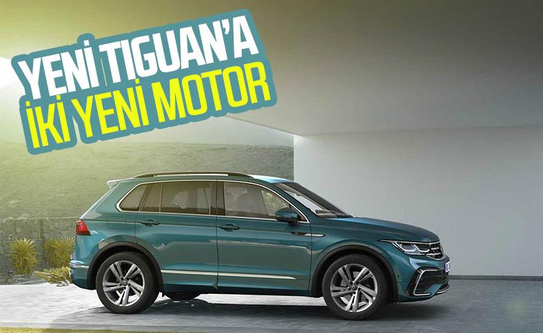 Volkswagen Tiguan, yeni motor seçeneklerine kavuştu
